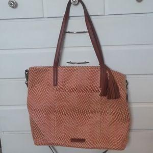 Lucky brand,  boho style Large tote style handbag